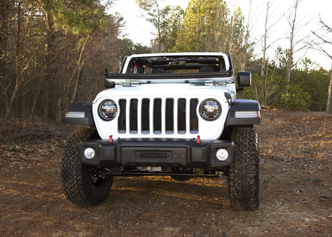 Spartacus Front Bumper, Black by Rugged Ridge (2018 Wrangler JL/JLU)