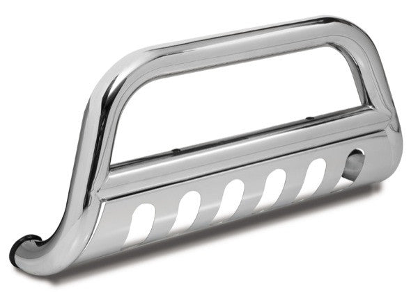 Bull Bar, 3 Inch, Stainless Steel by Rugged Ridge ('07-'09 Jeep Wrangler JK) - Jeep World