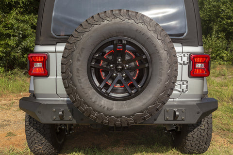 LED Third Brake Light Ring by Rugged Ridge ('18 Wrangler JL/JLU)