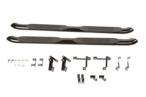Side Step, 4-inch Tubular by Rugged Ridge ('11-'18 Grand Cherokee WK)