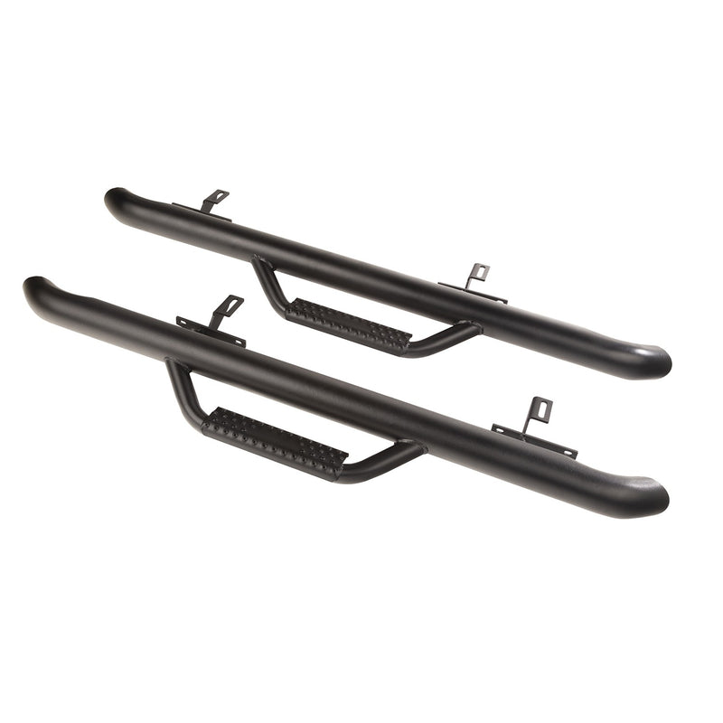 Spartan Nerf Bar, Textured Black by Rugged Ridge ('19 Wrangler JL 2 Door)