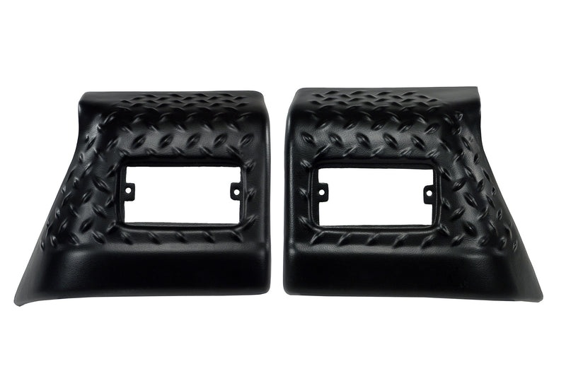 Front Fender Guards, Body Armor by Rugged Ridge ('97-'06 Jeep Wrangler TJ)