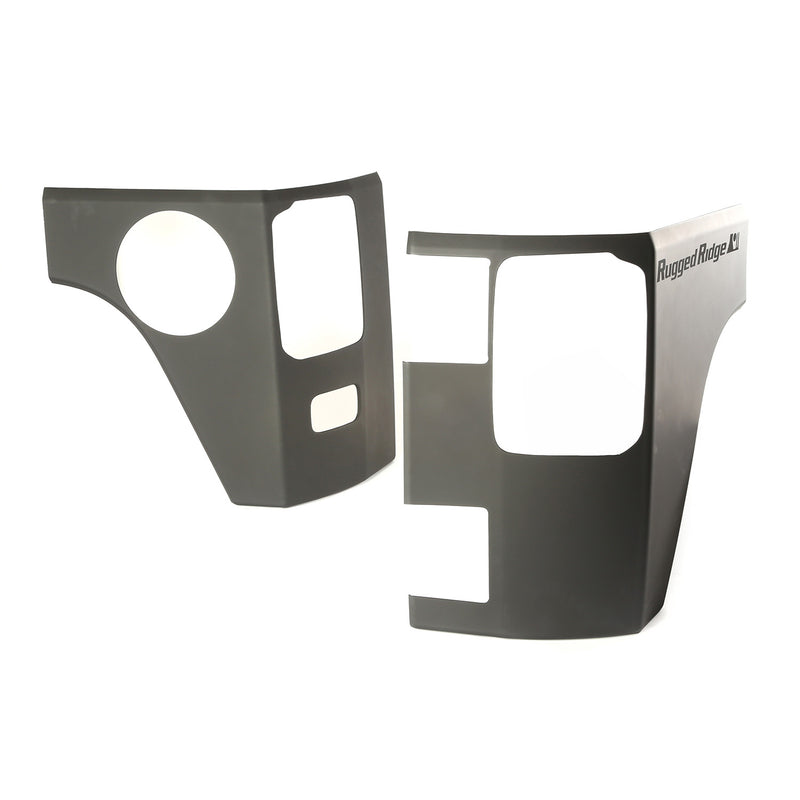 Rear Corner Kit, Body Armor, 4 Door by Rugged Ridge ('07-'18 Jeep Wrangler JK)