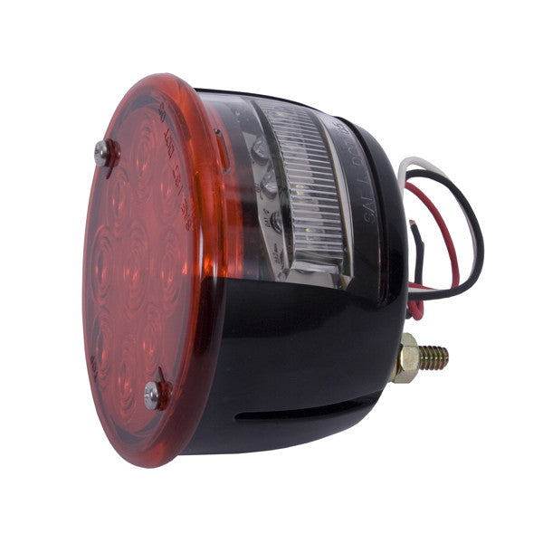 LED Tail Light Assembly, Left Side by Rugged Ridge ('46-'75 Willys/Jeep CJ Models)