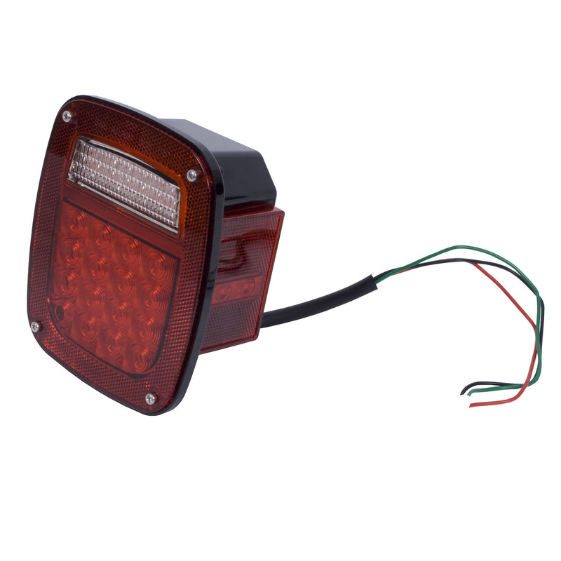 LED Tail Light Assembly, Right Side by Rugged Ridge ('76-'06 Jeep Wrangler CJ, YJ, TJ)