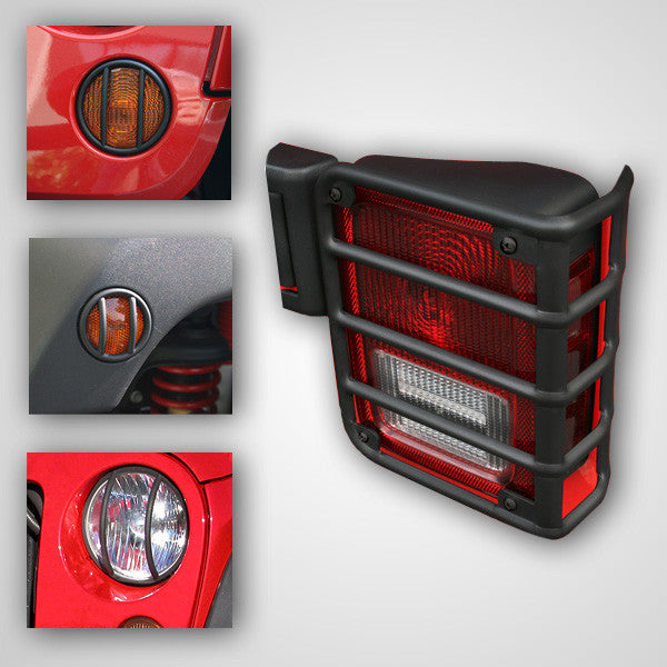 Jeep guard light kit