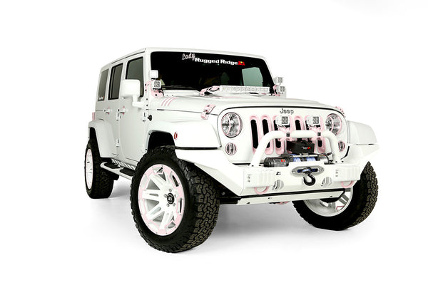 Lady Rugged Ridge package on Wrangler