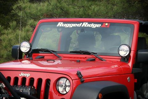 Rugged Ridge Windshield Decal (Universal)