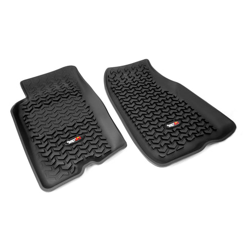 Floor Liners, Front, Black by Rugged Ridge ('93-'98 Jeep Grand Cherokee ZJ)