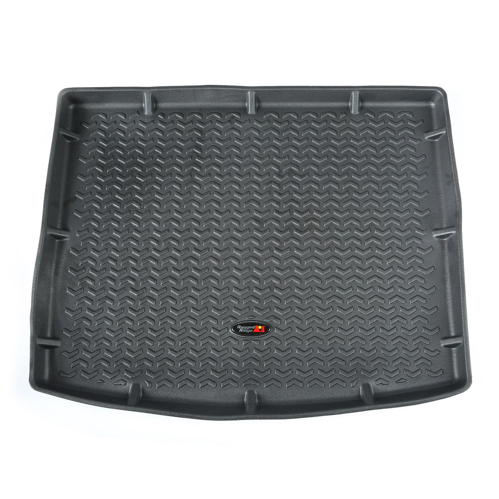 Cargo Liner, Black by Rugged Ridge ('14-'18 Jeep Cherokee KL) - Jeep World
