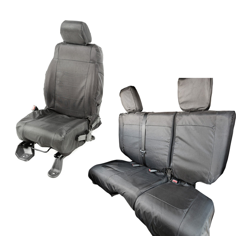 black Wrangler seat covers