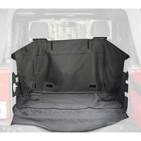 Rugged Ridge C3 Cargo Cover, 2-Door W/O Subwoofer; ('07-'16 Jeep Wrangler JK)