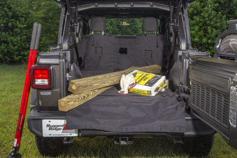 C3 Cargo Cover by Rugged Ridge ('18 Wrangler JLU 4 Door)
