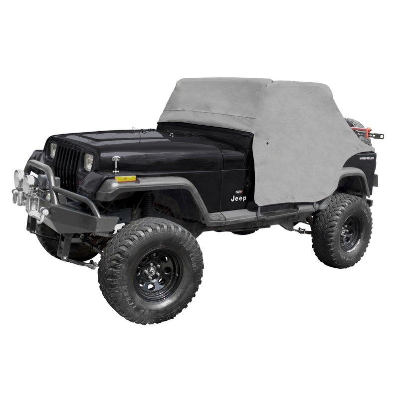 Cab Cover, Gray by Rugged Ridge ('87-'91 Jeep Wrangler YJ) - Jeep World