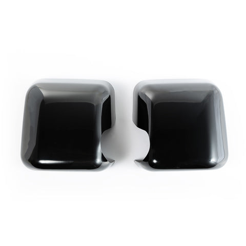 Mirror Covers, Black, Paintable by Rugged Ridge ('07-'18 Jeep Wrangler JK)