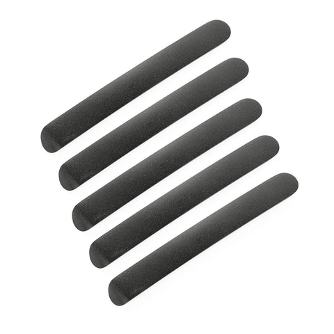 Door Handle Inserts, Black, 4 Door by Rugged Ridge ('07-'18 Jeep Wrangler JKU)