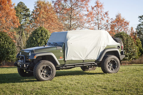 Weather Lite Cab Cover by Rugged Ridge ('07-'18 Jeep Wrangler JKU)