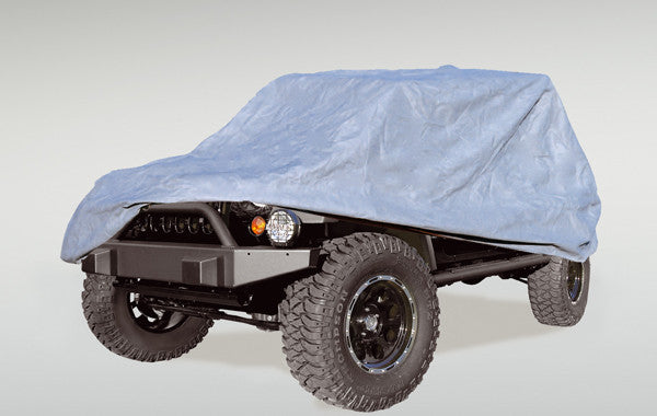 HD Full Car Cover by Rugged Ridge ('55-'06 Jeep Wrangler CJ, YJ, TJ)