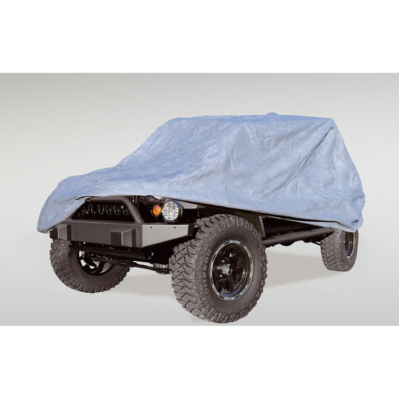 Full Car Cover by Rugged Ridge ('04-'18 Jeep Wrangler Unlimited LJ/JK)
