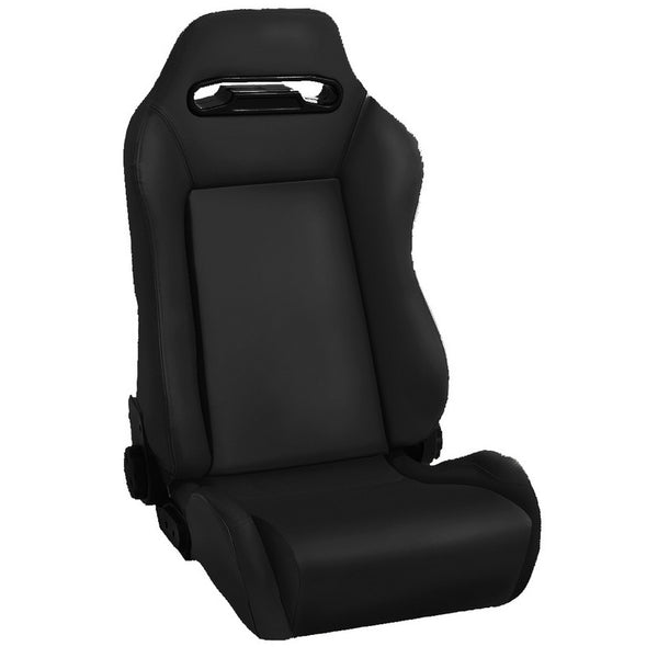 Seat Covers For Jeep Wranglers >> Sport Front Seat, Reclinable, Black Denim, 1976-2002 Wrangler CJ, YJ, TJ - 13405.15 – Jeep World