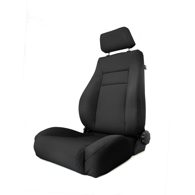 Ultra Front Seat, Reclinable, Black by Rugged Ridge ('97-'06 Jeep Wrangler TJ)