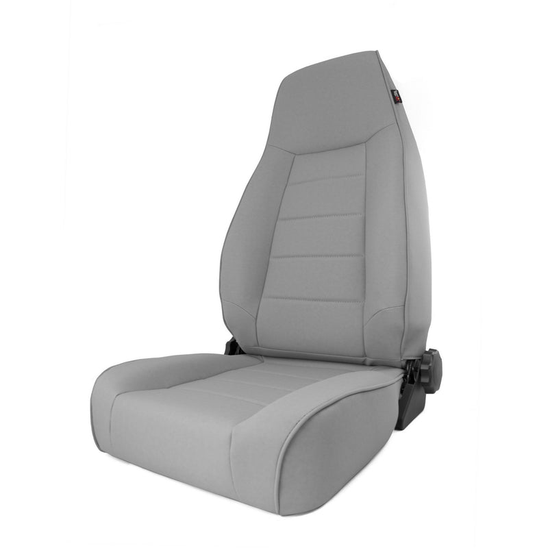 High-Back Front Seat, Reclinable, Gray by Rugged Ridge ('84-'01 Jeep Cherokee XJ)