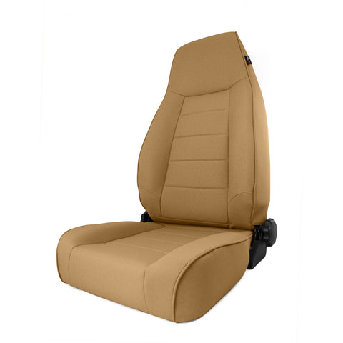 High-Back Front Seat, Reclinable, Spice by Rugged Ridge ('84-'01 Jeep Cherokee XJ)