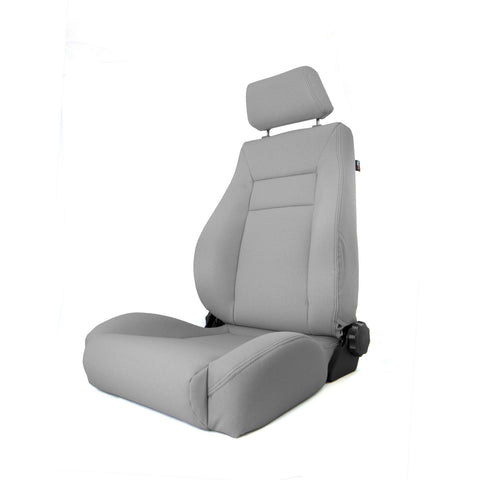 Ultra Front Seat, Reclinable, Gray by Rugged Ridge ('84-'01 Jeep Cherokee XJ)