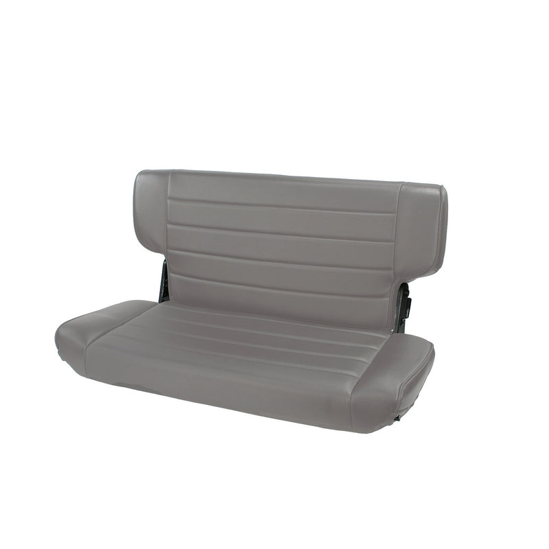 Fold and Tumble Rear Seat, Gray by Rugged Ridge ('97-'02 Jeep Wrangler TJ) - Jeep World