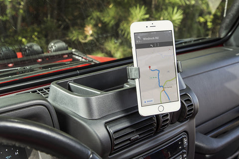 Dash Multi-Mount Phone Kit by Rugged Ridge ('11-'18 Wrangler JK)