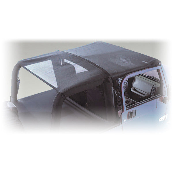 Mesh Roll Bar Top, 2 Door by Rugged Ridge ('07-'09 Jeep Wrangler JK)