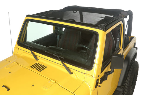 Eclipse Sun Shade, Full Cover by Rugged Ridge ('97-'06 Jeep Wrangler TJ)