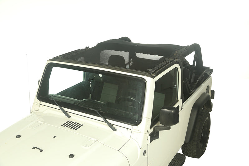 Eclipse Sun Shade, Full Cover by Rugged Ridge ('04-'06 Jeep Wrangler LJ) - Jeep World