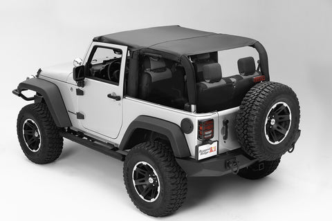 Pocket Island Topper, Black Diamond by Rugged Ridge ('10-'18 Jeep Wrangler JK)