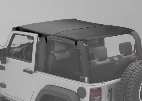 Montana Pocket Island Topper, Black Diamond by Rugged Ridge ('10-'18 Wrangler JK 2 Door )