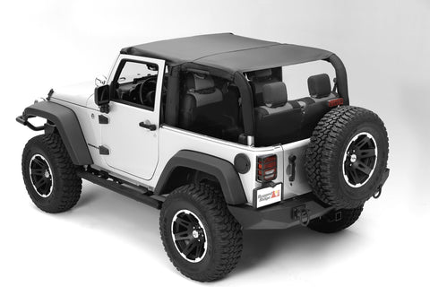 Montana Pocket Topper, Black Diamond by Rugged Ridge ('97-'06 Wrangler TJ)