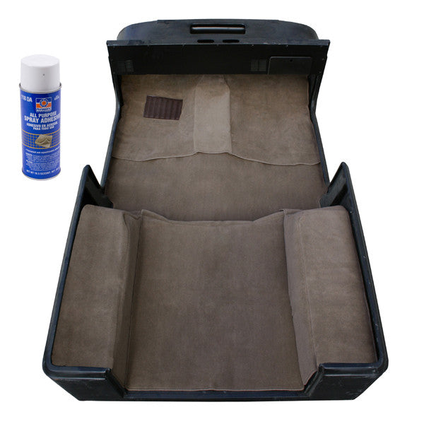 Deluxe Carpet Kit with Adhesive, Honey by Rugged Ridge ('97-'06 Jeep Wrangler TJ)