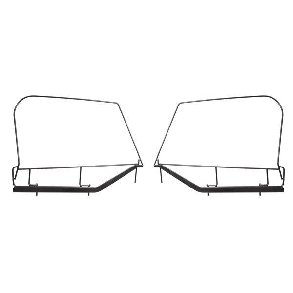 Upper Door Skin Frames by Rugged Ridge ('97-'06 Jeep Wrangler TJ)