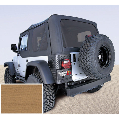 Soft Top, Spice, Tinted Windows, Without Door Skins by Rugged Ridge ('97-02 Jeep Wrangler TJ)