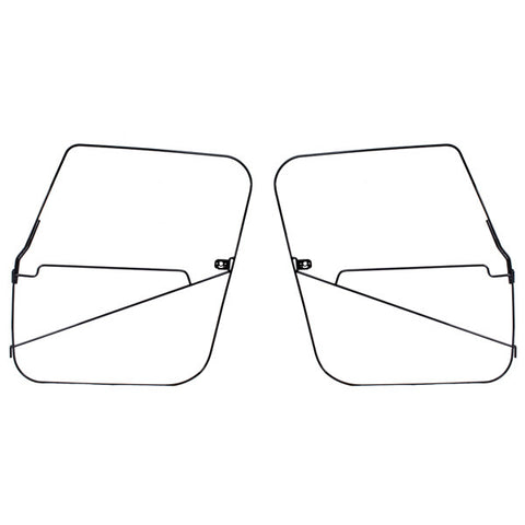 Soft Top Full Door Frames by Rugged Ridge ('76-'86 Jeep Wrangler CJ7)