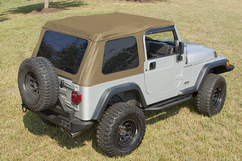 XHD Soft Top, Bowless, Spice by Rugged Ridge ('97-'06 Jeep Wrangler TJ)