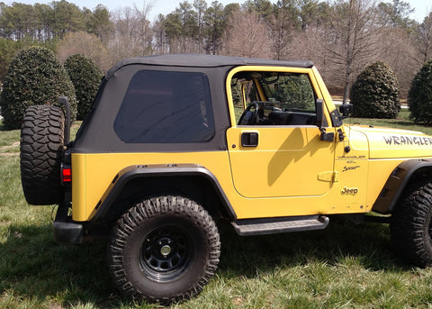 Bowless Montana Soft Top by Rugged Ridge ('97-'06 Wrangler TJ)