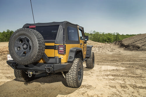 Montana Top, Bowless, Black Diamond by Rugged Ridge ('07-'18 Wrangler JK 2 Door)