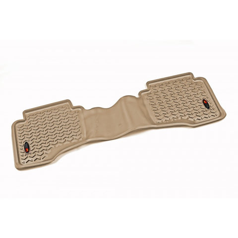 Floor Liner, Rear, Tan by Rugged Ridge ('05-'10 Jeep Grand Cherokee WK, Commander XK)