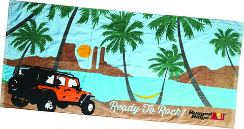 Jeep Beach Towel by Rugged Ridge