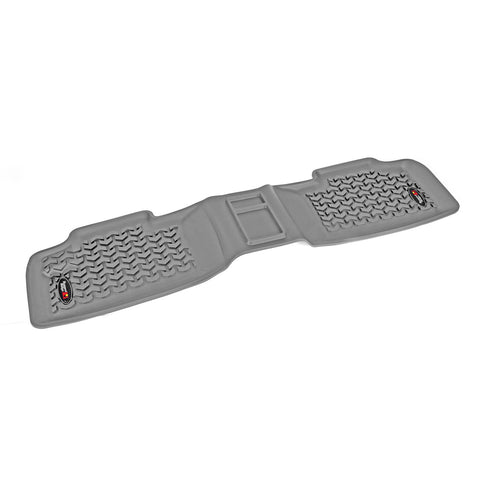 Floor Liner, Rear, Gray by Rugged Ridge ('11-'18 Jeep Grand Cherokee WK)