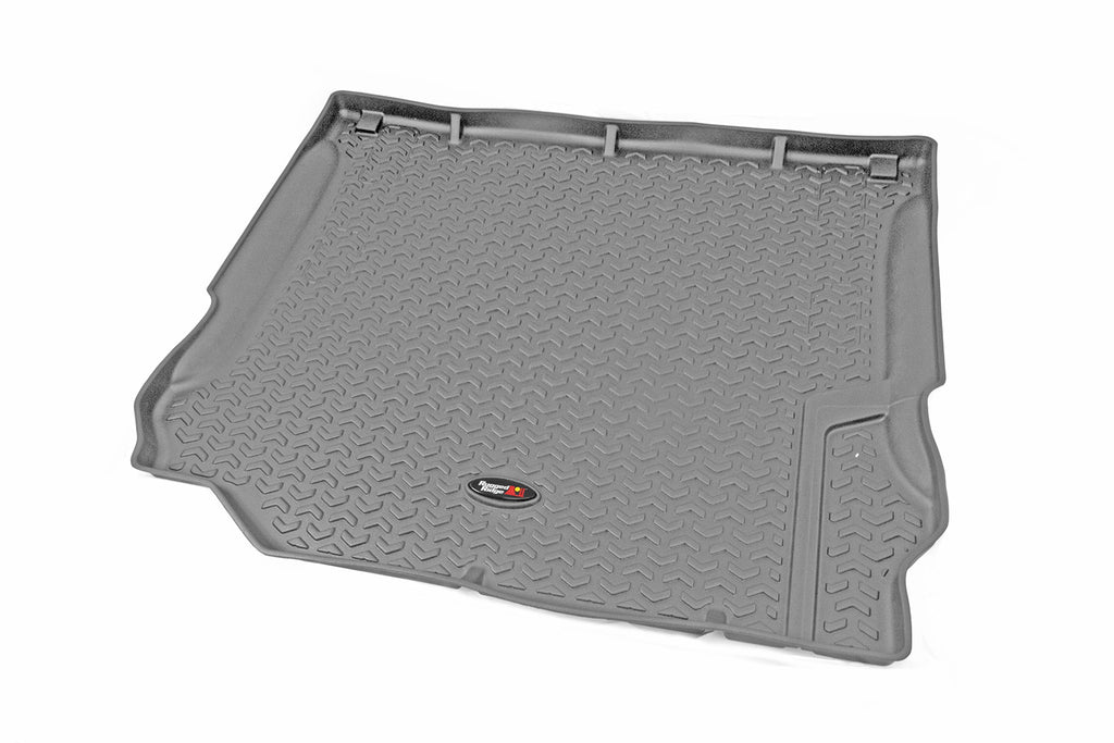 Cargo Liner, Gray by Rugged Ridge ('11-'18 Jeep Wrangler JK) - Jeep World