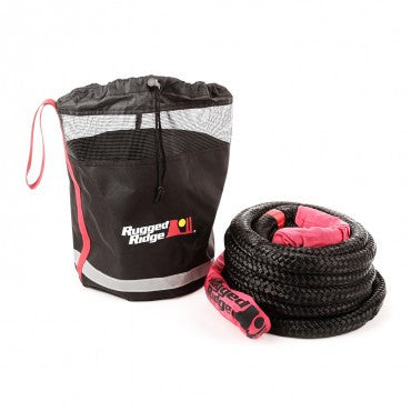 Kinetic Recovery Rope With Cinch Storage Bag by Rugged Ridge (Universal)