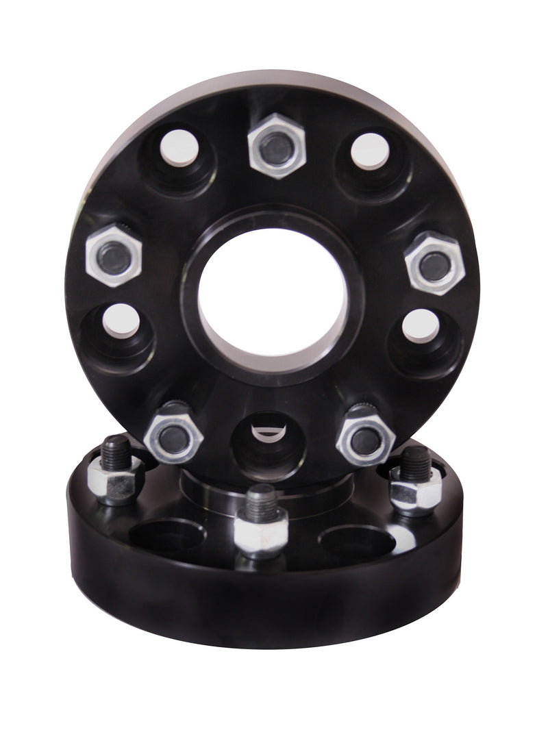 Jeep wheel spacers - black