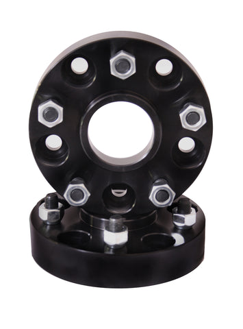 Wheel Spacers, 1.5 inch, 5x5 ('05-'18 Commander XK, Grand Cherokee WK, Wrangler JK)